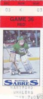 1996 Whalers at Sabres
