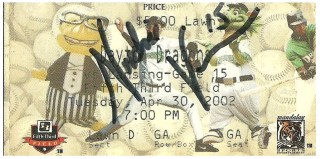 2001 MiLB Midwest League Lugnuts at Dragons stub