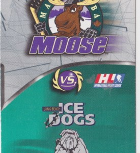 1998 IHL Ice Dogs at Moose
