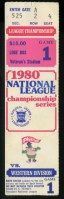 1980 NLCS Gm 1 Astros at Phillies