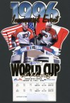 1996 World Cup Of Hockey ticket stub Canada vs USA
