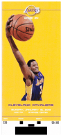 2012-13 Los Angeles Lakers Ticket Entry