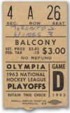 1963 Stanley Cup Final Gm 3 Maple Leafs at Red Wings