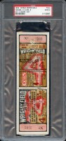 1932 World Series Game 4 Ticket Stub Yankees at Cubs