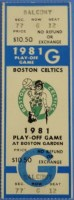 1981 NBA Finals Rockets at Celtics