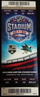 2015 Kings at Sharks Winter Classic ticket stub