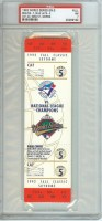 1992 World Series Game 5 ticket Braves at Blue Jays