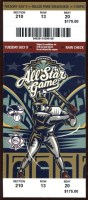 2002 All Star Game hosted by the Milwaukee Brewers