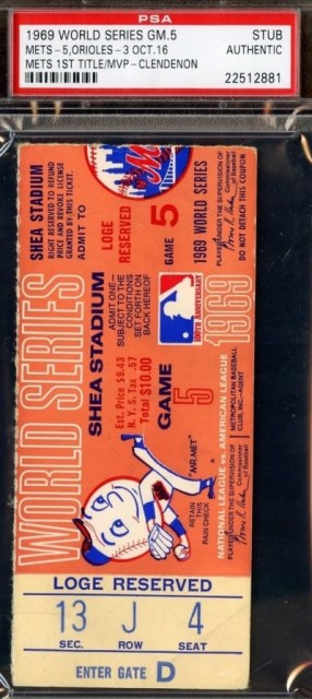 1969 World Series Game 5 Orioles at Mets 165
