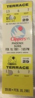 1981 NBA Suns at Clippers