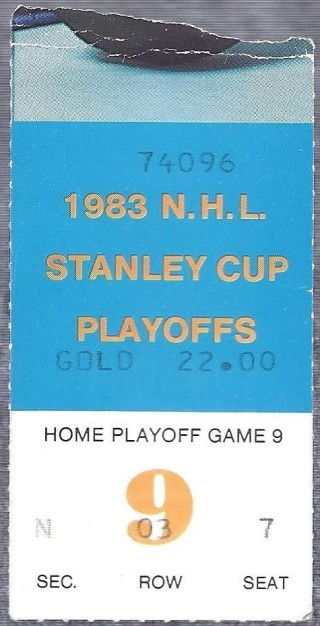 1983 Stanley Cup Final Game 2 Islanders at Oilers