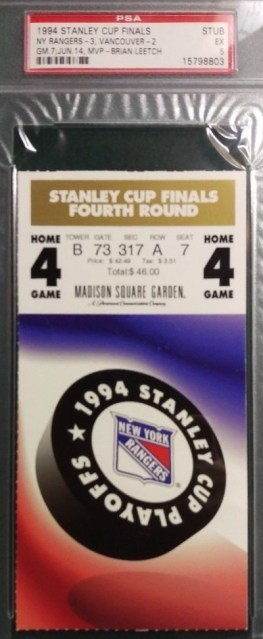 1994 NHL Stanley Cup Final Game 7 Canucks at Rangers 143