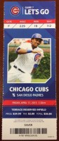 2015 MLB Padres at Cubs Kris Bryant debut