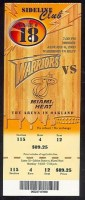 2003 NBA Heat at Warriors
