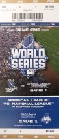 2015 World Series Game 1 ticket Mets at Royals