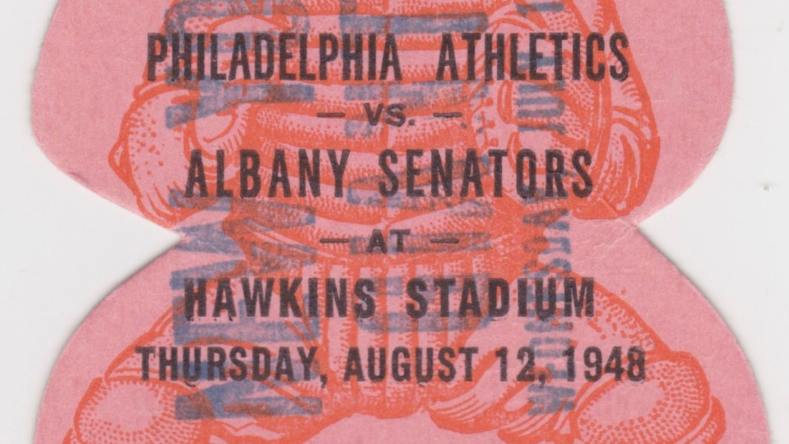 1948 Albany Senators vs Philadelphia Athletics