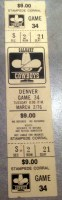 1976 WHA Denver Spurs at Calgary Cowboys