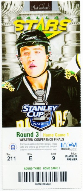 2008 Stanley Cup Conference Final Red Wings at Stars ticket stub
