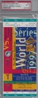1997 World Series Game 1 ticket Indians at Marlins