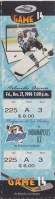 1996 IHL Orlando Solar Bears ticket stub vs Indianapolis