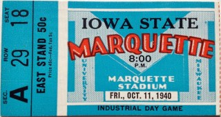 1940 NCAAF Iowa State at Marquette