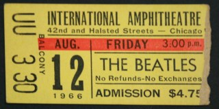 1966 The Beatles Chicago 353