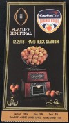 2018 Orange Bowl Ticket Stub Oklahoma vs Alabama