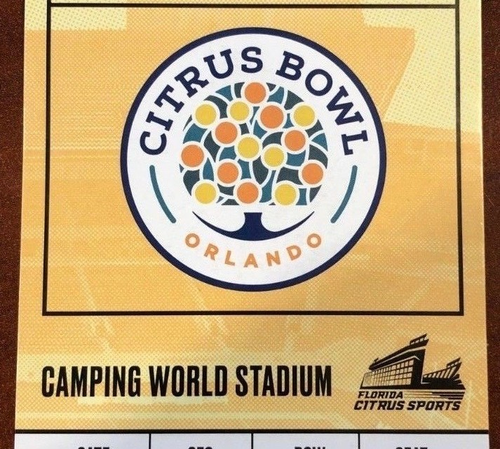 2019 Citrus Bowl Ticket Stub Kentucky vs Penn State