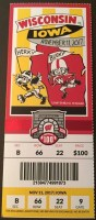 2017 NCAAF Wisconsin ticket vs Iowa