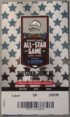 2018 Midwest League All Star Game ticket stub