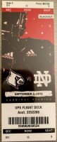 2019 NCAAF Louisville Cardinals ticket stub vs Notre Dame