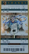 2007 Jeremy Roenick 500th Goal Ticket Stub