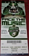 2015 Music City Bowl ticket stub Louisville vs Texas A and M