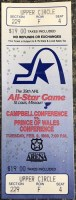 1988 NHL All Star Game ticket stub St. Louis