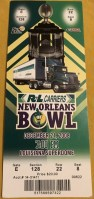 2008 New Orleans Bowl Ticket Stub Southern Miss vs Troy