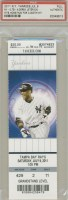 2011 Derek Jeter 3000th Hit full ticket