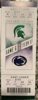 2017 NCAAF Michigan State ticket stub vs Penn State