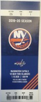 2020 Alex Ovechkin Hat Trick ticket stub vs Islanders