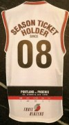 2010 Portland Trail Blazers Opening Night ticket stub vs Phoenix