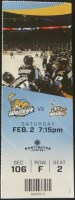 2019 ECHL Toledo Walleye ticket stub vs Brampton