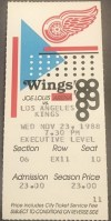 1988 Wayne Gretzky 800th Goal Ticket Stub