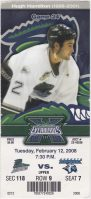 2008 Florida Everblades ticket stub vs Augusta