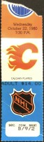 1980 Paul Coffey First NHL Goal ticket stub