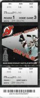 2003 New Jersey Devils playoffs ticket stub vs Bruins