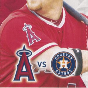 2016 Los Angeles Angels vs Houston Sep 30