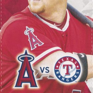 2016 Los Angeles Angels vs Texas Sep 10