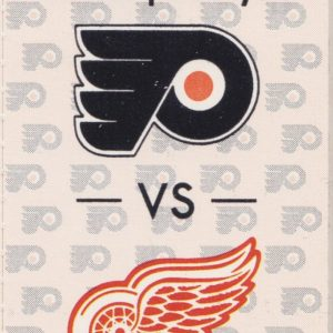 1990 Flyers Opening Night Ticket Stub vs Red Wings Oct 7 Tocchet Yzerman