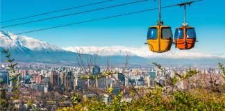 vliegen naar Santiago Chili