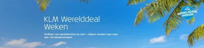 KLM-Werelddeal-Weken