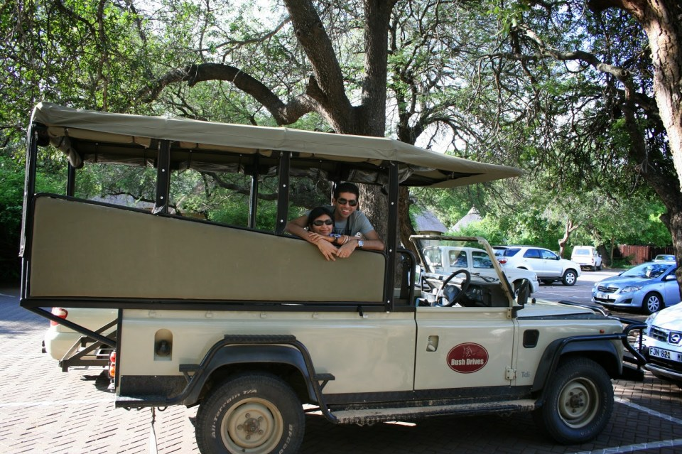 Kruger National Park: Safari vehicle